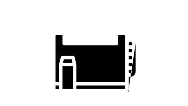 Szakáll és bajusz ikon animáció