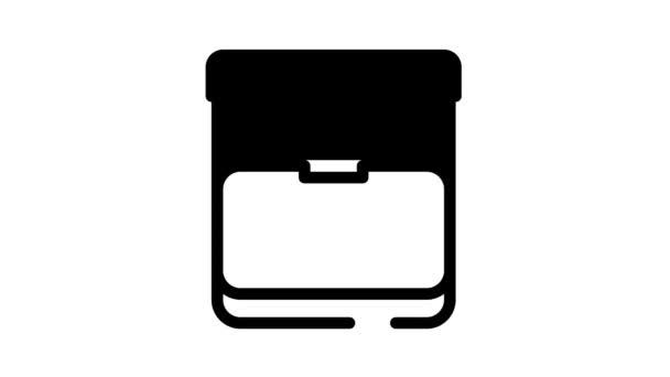 Animace ikon buněk výživy sportu