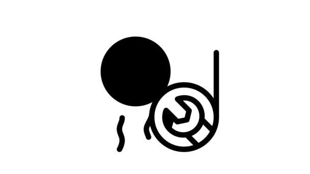 Animace ikon kondicionéru
