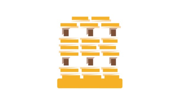 Animation zur Ikone der Holzproduktion