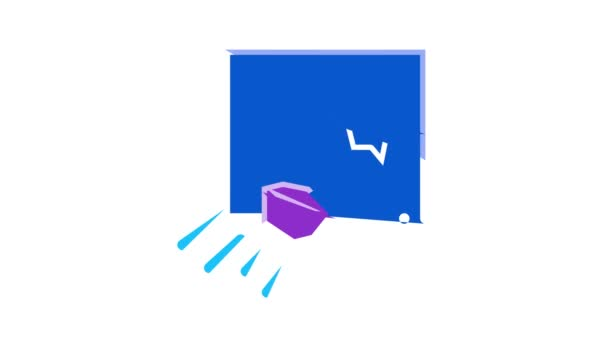 Animace ikon softwaru Pentesting