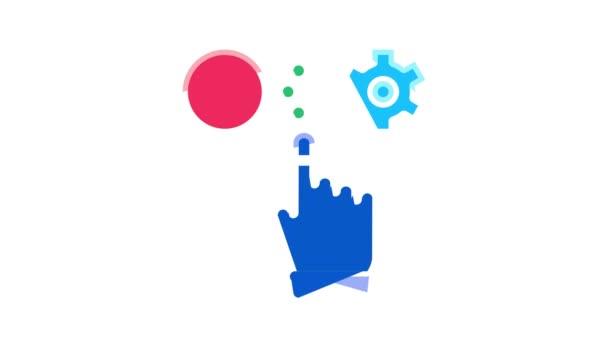 Goal Target Purpose Icon Animation