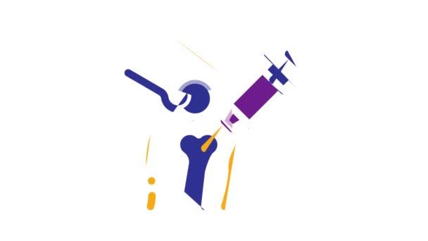 Animace ortopedické ikony
