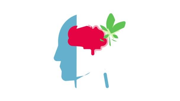 Animace ikon bolesti hlavy