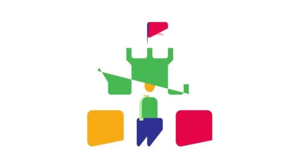 Animace ikon Prodej domu