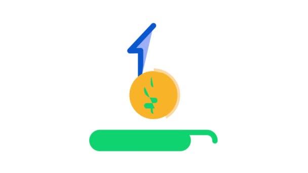 Animace ikon transakcí online