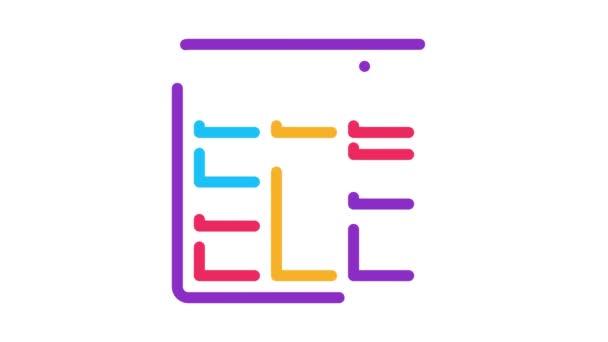 Animace ikon rozložení webu