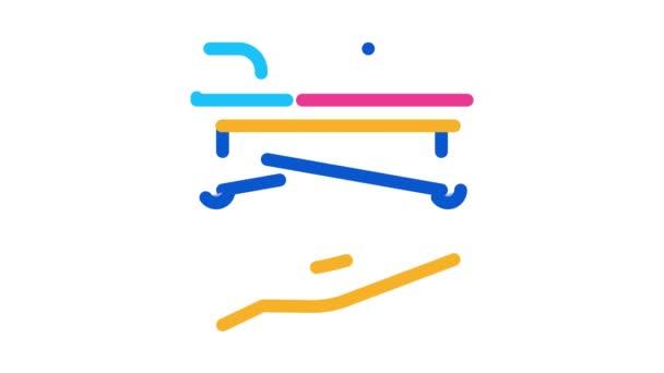 Bahre zur Hand Icon Animation