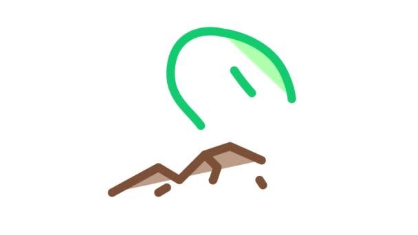 Soja-Wachstum Icon Animation