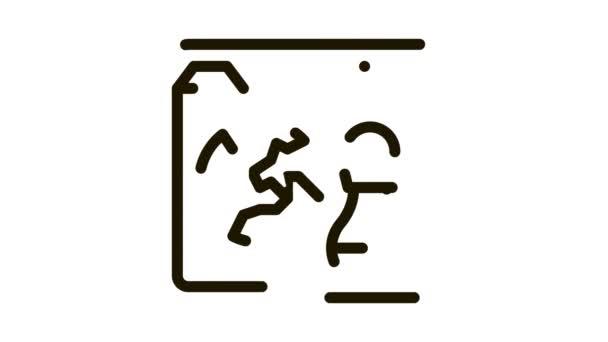 šachová figurka a země na webové stránce Icon Animation