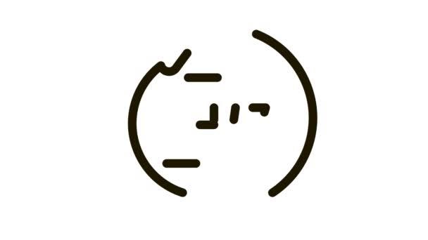 Webshop arbeitet Tag und Nacht Icon Animation