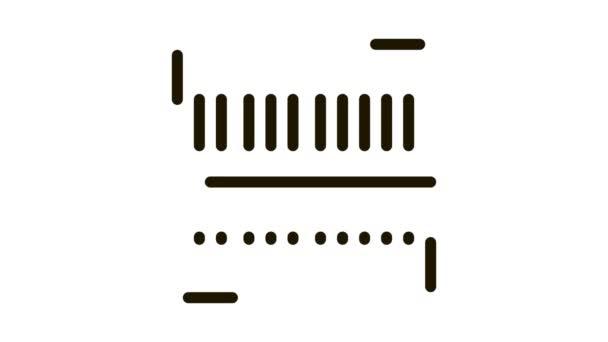 Webshop Scannen von Barcode Icon Animation