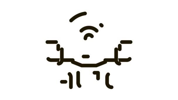 drone auto return home Icon Animation