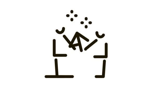 Startrakete Eltern-Kind Icon Animation