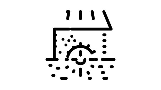 river landscape with islets Icon Animation