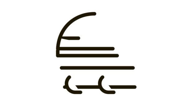 Schutzbrille und Hut Icon Animation