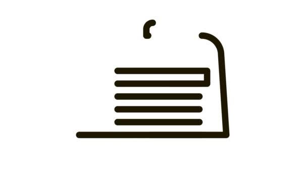 Animation mit Tortenscheiben-Symbol
