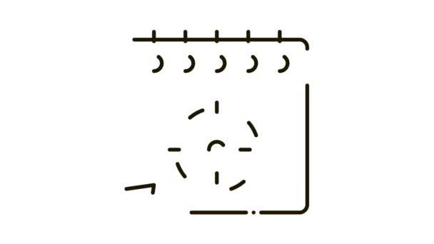 target on sheet Icon Animation