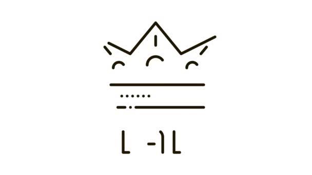 Animace ikon otce koruny
