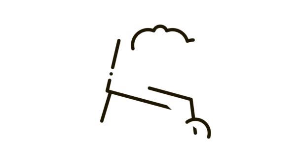 Animace ikon Cement Bag