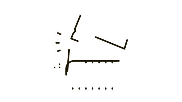 Animace ikon ořezávání cihel