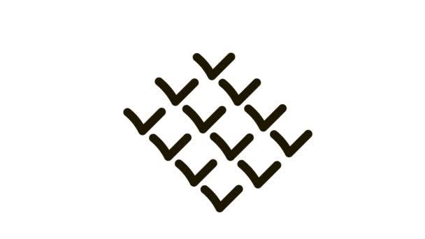 Animace ikon hole cukrové třtiny