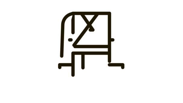 Nemzeti ruha ikon animáció