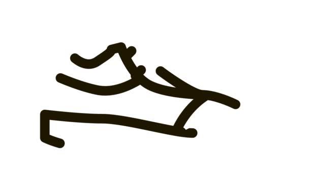 Volleyball Schuhe Turnschuhe Ikone Animation