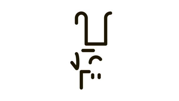 Kézmozdulat ikon animáció