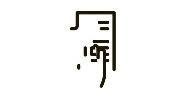 Animace ikon Ruka na dokumentu
