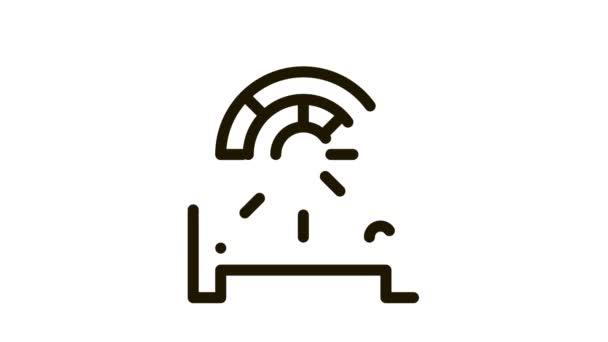 Elektronische Ventilatorheizung Icon Animation