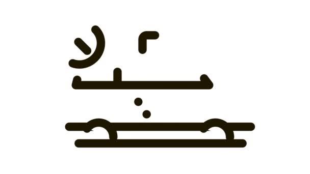 Online Taxi ikon animáció
