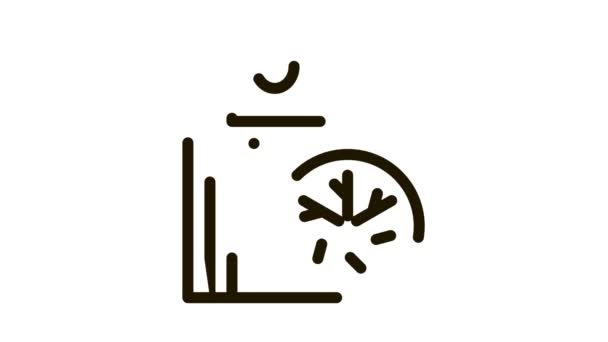 People Heating Point Biohacking Icon Animation