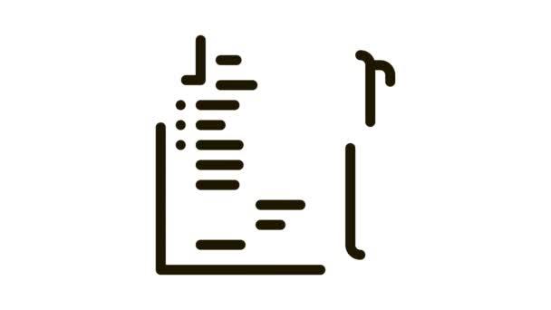 Hlasový list s animací ikon pera