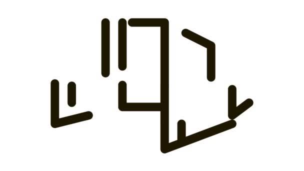 Raumschiff-Rückgabeeinheit Icon Animation