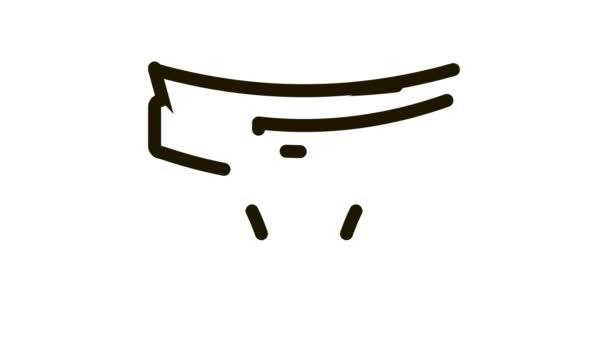 Animace pleny s ikonou pásu