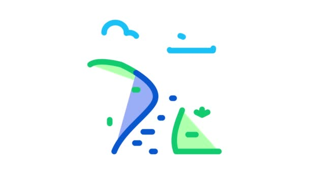 long river Icon Animation