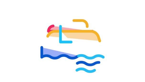Unterwasserröhre Icon Animation