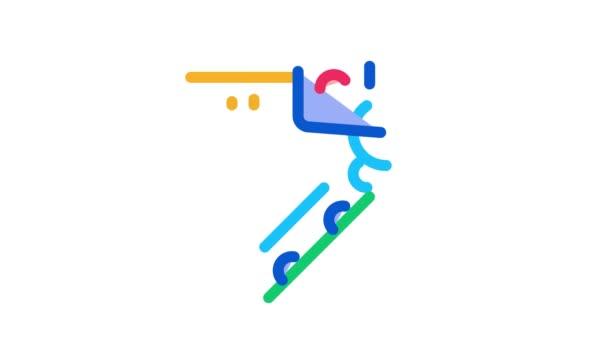 Autoschlüssel Icon Animation