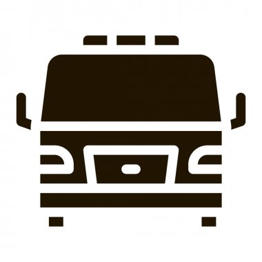 Tow Car Truck glyph icon vector. Tow Car Truck Sign. isolated symbol illustration icon