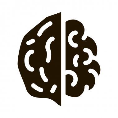 Walnut Nut glyph icon vector. Walnut Nut Sign. isolated symbol illustration icon