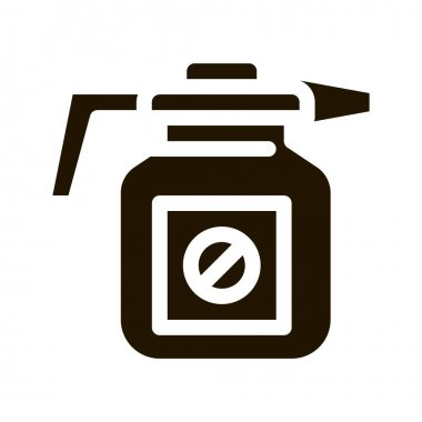 Atomizer Tool glyph icon vector. Atomizer Tool Sign. isolated symbol illustration icon