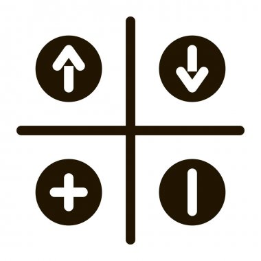 Swot Analysis glyph icon vector. Swot Analysis Sign. isolated symbol illustration icon