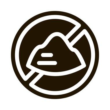 Sugar Crossed glyph icon vector. Sugar Crossed Sign. isolated symbol illustration icon