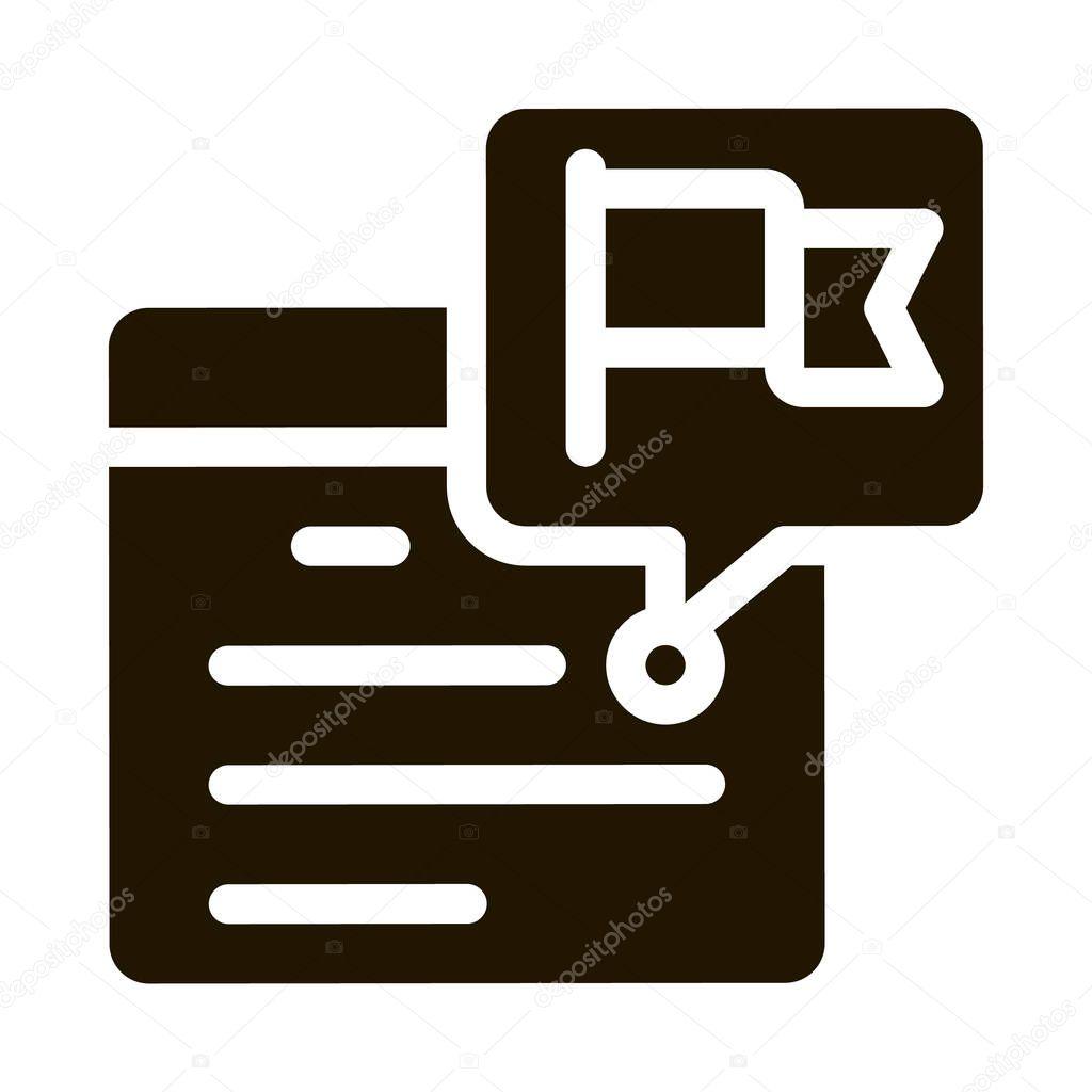 Calendar Date glyph icon vector icon