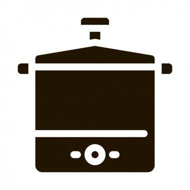 Tool Sterilizer glyph icon vector. Tool Sterilizer Sign. isolated symbol illustration icon