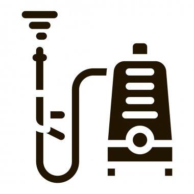 Washing Device glyph icon vector. Washing Device Sign. isolated symbol illustration icon
