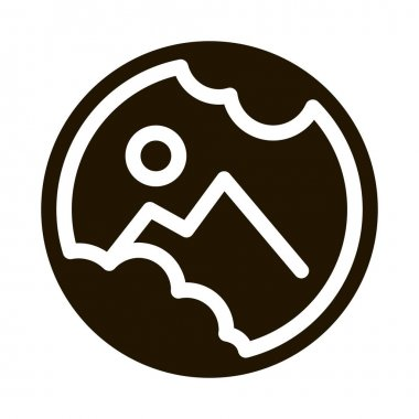 Eyeball Damage glyph icon vector. Eyeball Damage Sign. isolated symbol illustration icon