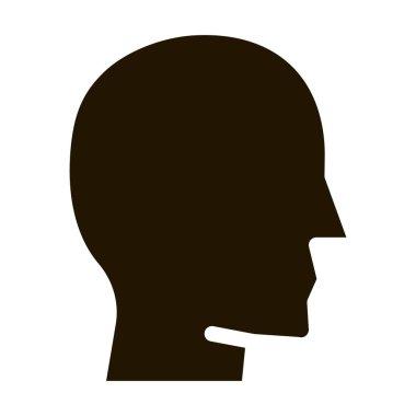 Shaman Man glyph icon vector. Shaman Man Sign. isolated symbol illustration icon