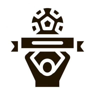 Soccer Above All glyph icon vector. Soccer Above All Sign. isolated symbol illustration icon